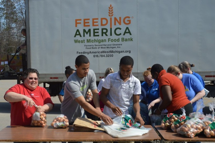 Feeding America West Michigan's Mobile Pantries serve communities across West Michigan and the UP.