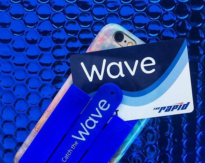 The Wave is a pay-as-you-go smart card.
