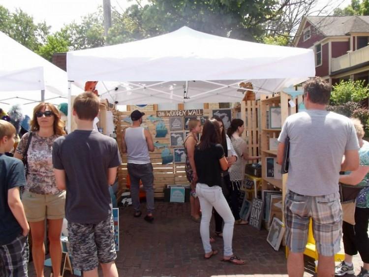 Neighbors flock to last year's Bizarre Bazaar in Eastown
