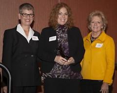 Susan Johnson, Rebecca Dutcher, Kay Staszel