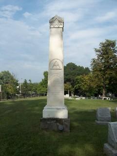 A fancified obelisk.