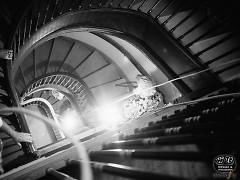 The Morton, staircase