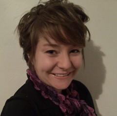Megan Brown in her Grand Rapids apartment