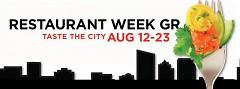 Restaurant Week 2015 ran from August 12-23 in Grand Rapids.