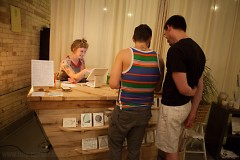 Marlee Grace Hanson of Have Company and guests during First Fridays:The Market