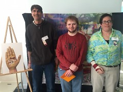 2016 Juror's Choice Winners Wes DeVries, Tyler Vonitter, and Jodie Dilno