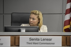 Third ward Commissioner Senita Lenear