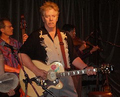 Dan Hicks and the Hot Licks performed at Wealthy Theatre Thursday.