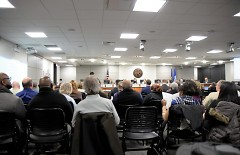 Full house at the Grand Rapids City Commission meeting on November 14, 2017