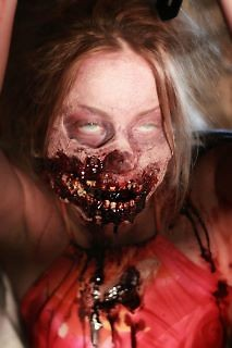 """A zombie for the upcoming film series, """"The Last Broadcast"""", directed by Michael G. Petersen."""