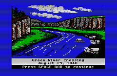 """""""Ford the River,"""" the computer game"""