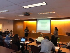 The Rapidian presents at a Community Journalism Workshop on Thursday, September 27, 2018 at Grand Rapids Public Library.