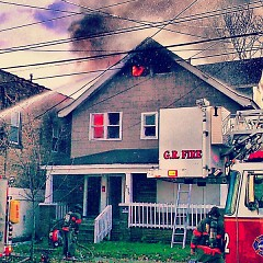 """Thank you, GR Fire Department"""
