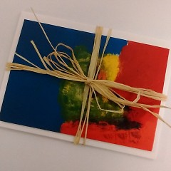 """Notecard prints of Chris's piece, """"Chris Art 2"""" - available for purchase on the apprentice store"""