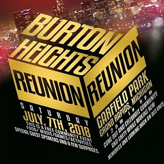 Poster for the 4th Annual Burton Heights Reunion