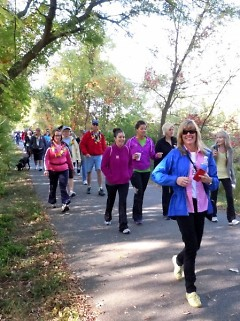 The 10K follows the White Pine Trail from Comstock Park to Belmont and back.
