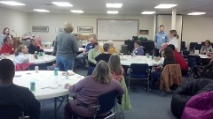 Creston neighbor participants at the workshop learned many useful crime prevention ideas