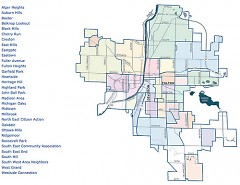 There are many precincts in Grand Rapids