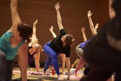 Yoga at the GRAM