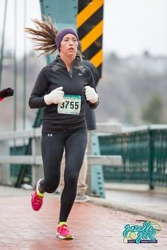 Runner on the Sixth Street Bridge