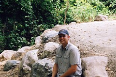 Skip Herrema, lead designer for the trail system.