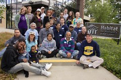 Interfaith Service Project w/ Habitat for Humanity