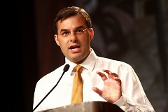 U.S. Rep Justin Amash, pictured here in 2013, held a town hall meeting on Tuesday.