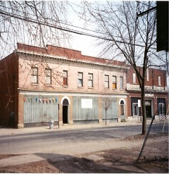 Helmus Building before re-investment.