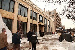 Acton staff enters new building