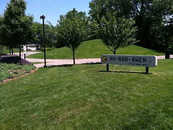 Ah-Nab-Awen Park, where the Refugee Walk will take place.