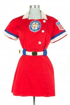 All-American Girls Professional League baseball uniform, c. 1952-54