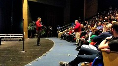 Representative Justin Amash at City Middle High School