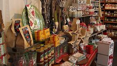 Gorgeous displays greet customers inside Art of the Table.