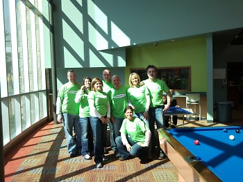 Autotrader.com volunteer group at Steil Boys & Girls Club.