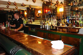 The bar at the Kopper Top