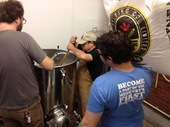 High Five Co-op Brewery members are brewing at local partner breweries, but hope to have their own site by January.