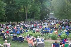 Beltline Big Band performing at Jazz at the Zoo
