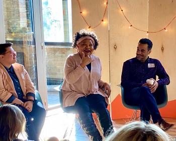Panelists at Break It Down   Make It Better in 2020