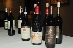 Various wines people have sampled
