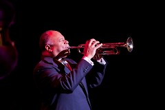 Trumpeter and singer Byron Stripling has played with the Dizzy Gillespie, Woody Herman, Lionel Hampton and the Count Basie Band