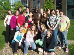 Women who participated in the 2009 Called to Serve program. (Photo: Courtesy of Sr. Kathi Sleziak OP)