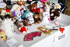 CARE Ballet dancers have been collecting gently used stuffed animals for children comfort kits.