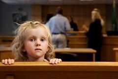 CASA volunteers represent the children in court.