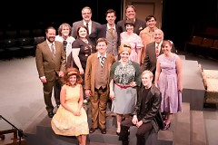 """Cast of """"One Man, Two Guvnors"""""""