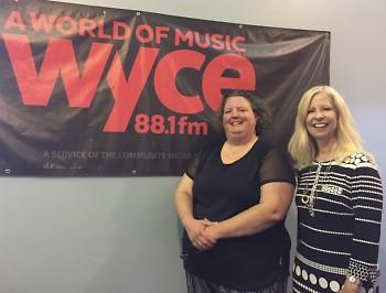 Shannon Garrett of Civicize.Me and Catalyst radio host, Cynthia Kamp