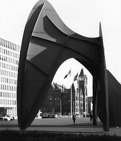 City Hall through the Calder