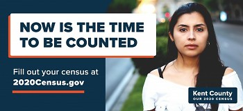 Same census ad used around Kent County in English.