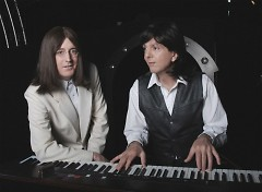 Jim Owen (left) and Tony Kishman of Classical Mystery Tour.