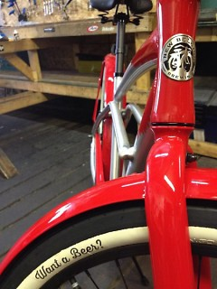 New Belgium Cruiser available to win at the Crank event