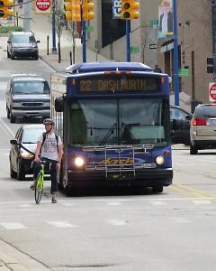 The Dash bus in Grand Rapids